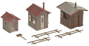 Faller-120211-Kit-Trackside-Shacks-Device-Scale-H0
