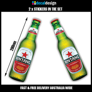Bintang-novelty-beer-fridge-stickers-x-2-for-car-4WD-ute-tinnie-man-cave