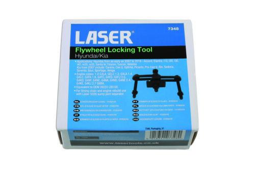 Laser Tools 7348 Flywheel Locking Tool for Hyundai//Kia Eqv to OEM 09231-2B100