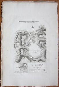 Choiseul Gouffier Greece Large Print Map Lesbos - 1782
