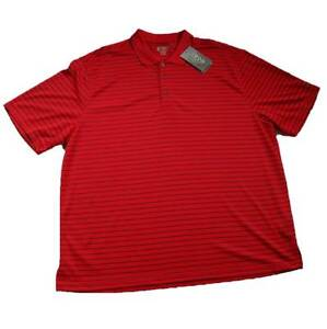 lowest discount enjoy free shipping hoard as a rare commodity Details about MEN'S IZOD GOLF XXL POLO KNIT GOLF SHIRT MEN'S 2XL RED WITH  BLACK STRIPES NEW!