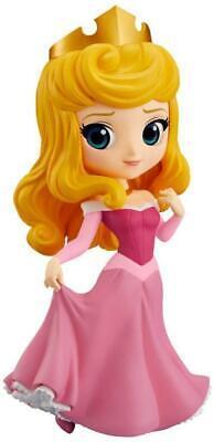 Disney Sleeping Beauty Q-Posket Princess Aurora Pink Dress Figurine