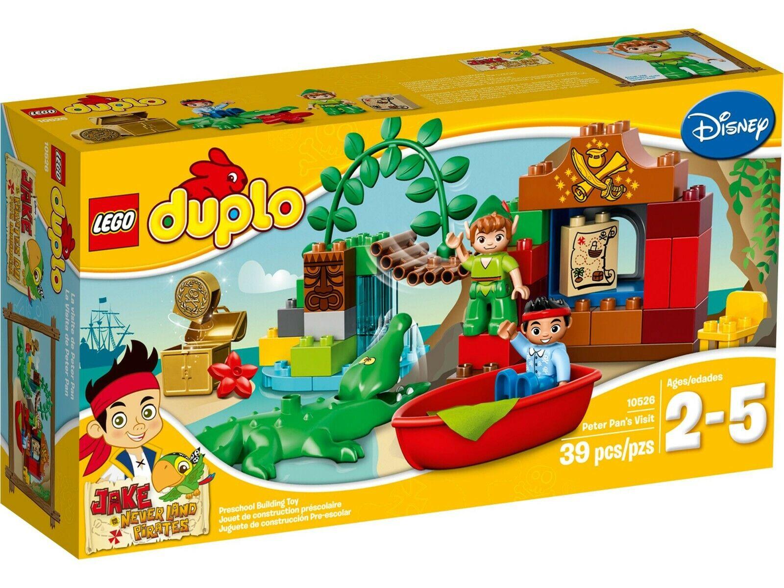 LEGO ®  DUPLO 10526 Peter Pans visita risalente al 2014-Nuovo Scatola Originale  benvenuto a comprare