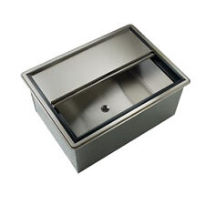 "Krowne Metal D2712 27"" Drop-In ice Bin W/ 73 lb Ice Capacity"