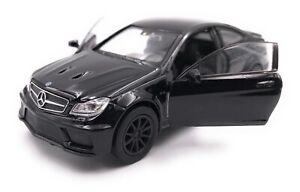 Voiture-miniature-MERCEDES-BENZ-AMG-c63-Black-Series-noir-voiture-echelle-1-34-39