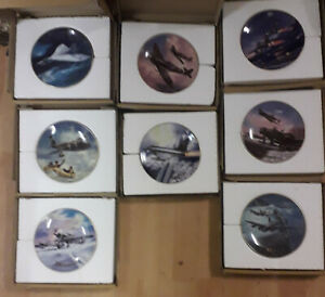 DAVENPORT-Wings-Of-Fame-Collector-Plates