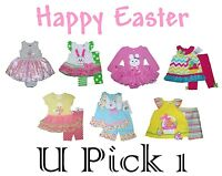 Easter Outfit Dress Baby Girls Holiday Childrens Leggings First 1st Outfit