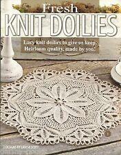 Fresh Knit Doilies Larisa Scott Knitting Instruction Doily Pattern Book LA3893