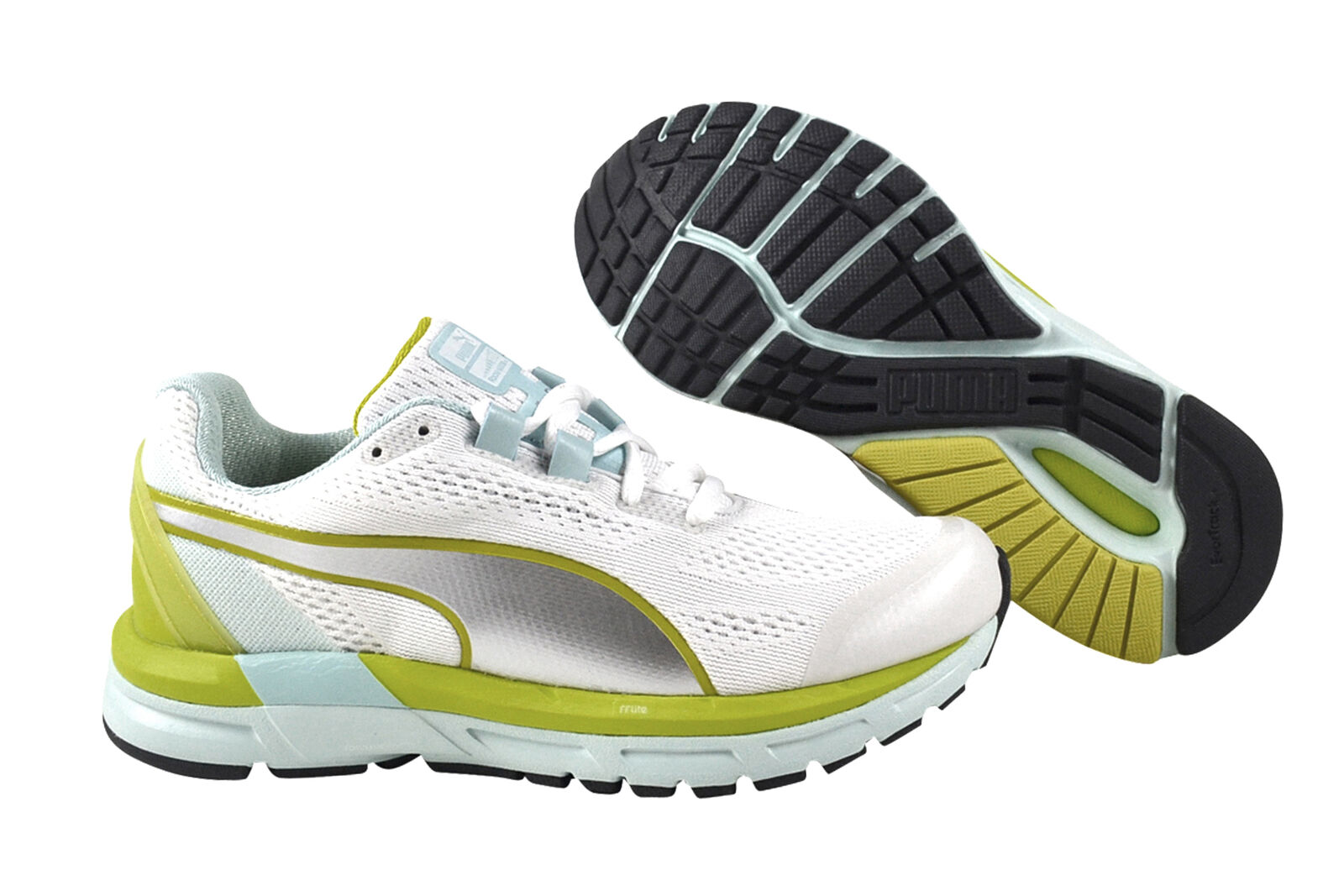 Puma Faas 600 S v2 soit + blanc Clearwater jaune argent Chaussures Baskets 188125 01