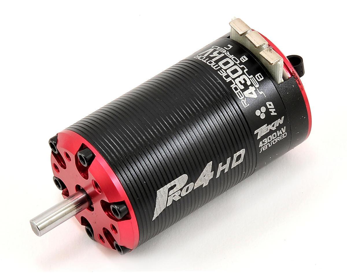 Tekin Pro4 HD BL 1.5D 4300kv 4 polos 550 5mm Eje tektt 2518