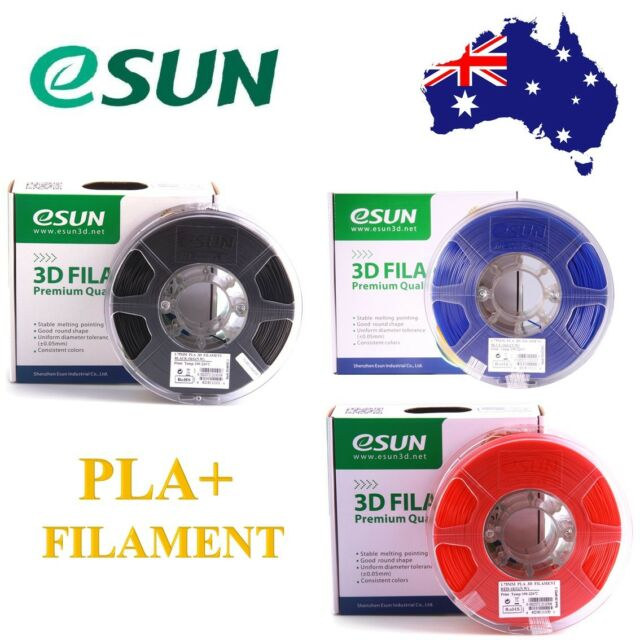 Genuine eSUN PLA+ 3D Printer Filament 1kg Roll 1.75mm & 2.85mm Free Shipping AU
