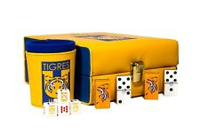 Board Traditional Games Aguilas Club America Deluxe Set 3 Games 2 Poker Cards Domino Dice Cup Labaguettepattaya Com