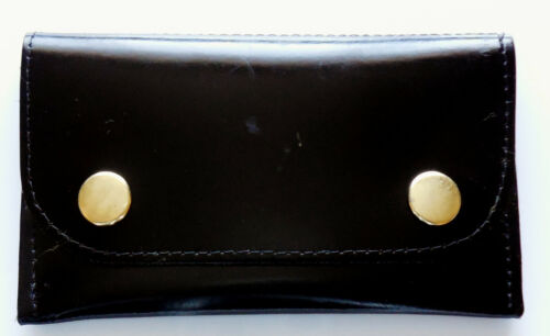 Leather tobacco pouch wallet holder in various styles Black brown blue
