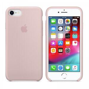 Dettagli su Apple Cover Originale iPhone 7 e 8 Apple Pink Sand