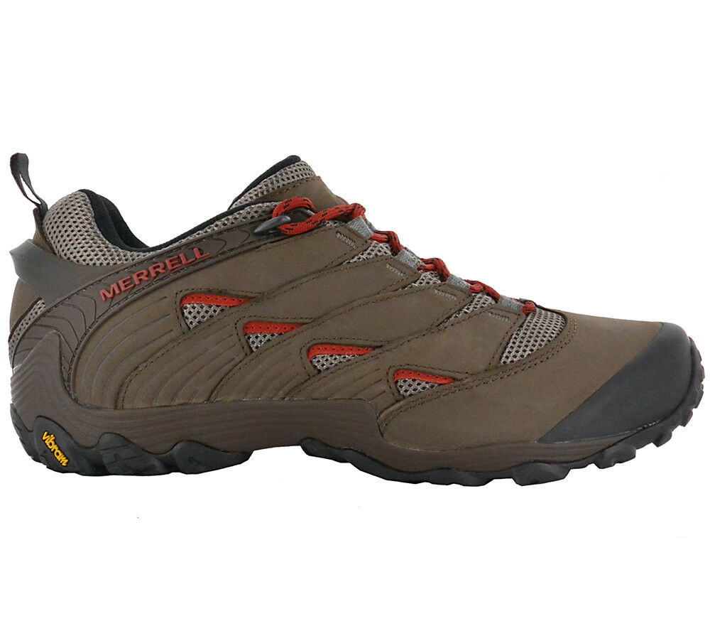 Merrell  Chameleon 7 Low Men's Leather Hiking scarpe Outdoor Trekking scarpe J12057  vendita scontata online di factory outlet