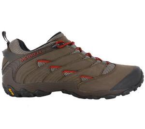 Merrell-Chameleon-7-Low-Men-039-s-Leather-Hiking-Shoes-Outdoor-Trekking-Shoes-J12057