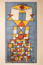 Paul Trifoglio Bauhaus poster stampa d'arte immagine 100x69cm