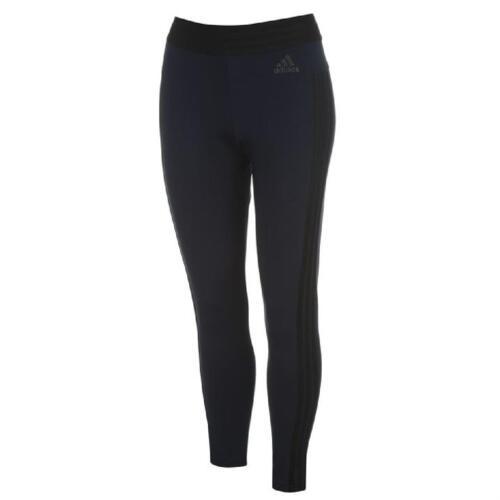 Adidas SEÑORA LEGGINS 3 rayas Tights fitness pantalones sport 3-Stripe negro blanco