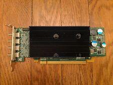 Matrox M9148 Quad Graphics Video Card E1024LAF Small/Half Bracket