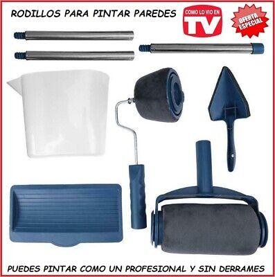 100 mm, 10 piezas, ideal para el hogar, la oficina, la sala de estar MSDADA Rodillo de pintura profesional para pared