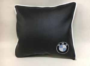 Faux-Leather-BMW-17-Cushion-Cover-With-Fibre-Filled-Inner-Brand-New