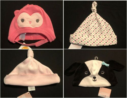 NWT Gymboree Girls Boys Layette Baby Hats Size and Color Choice!