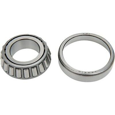 Neck Post Bearing Cups w//Races Installed Chrome Drag Specialties 70-0002C-2LBS