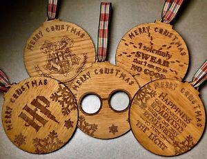 Ornamenti da Appendere per la casa Sconosciuto Decorazione a Forma di Piattaforma Hogwarts 9 3//4 per Albero di Natale