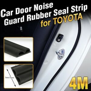 Details About Car Door Auto Noise Guard Rubber Wind Seal Strip Molding 1ea  B Type For TOYOTA