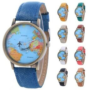 World map globe moving aeroplane airplane watch travel globe image is loading world map globe moving aeroplane airplane watch travel gumiabroncs Gallery
