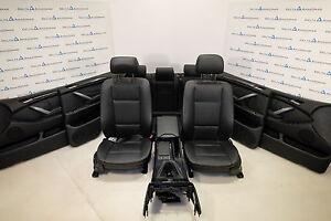 BMW X5 E53 Pelle Sedili Interni pelle IN Pelle Dakota Nero