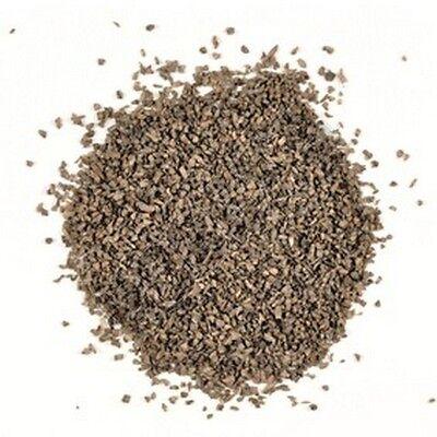 Dark Brown Cork Ballast 28g, Railway Landscape Material, Surface Material