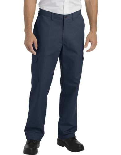 Dickies Mens Navy Industrial Relaxed Fit Straight Leg Cargo Pants LP600NV