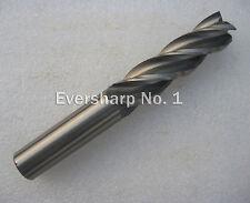 Lot 10pcs 4Flute Hss Long EndMills Cutting Dia 6mm Length 68mm End Mills Bits