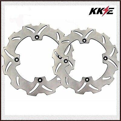 Rear Brake Disc Rotor For KAWASAKI KX250 KX250F KLX450R KX450F RMZ250 Stainless