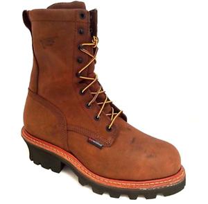 Red Wing Mens Waterproof Loggers Steel Toe Work Boots 4420