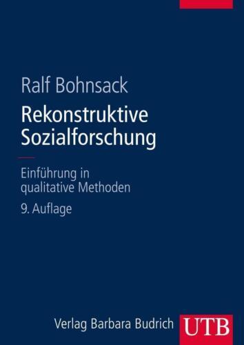 1 von 1 - Rekonstruktive Sozialforschung von Ralf Bohnsack (2014, Gebundene Ausgabe)