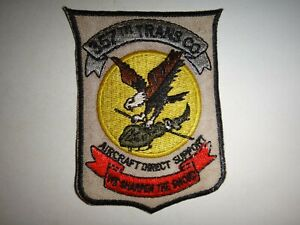 US-357th-TRANSPORT-Company-AIRCRAFT-DIRECT-SUPPORT-Vietnam-War-Patch