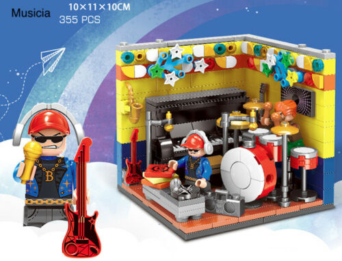 DIY Mini Future Dreamers Career Toy Building Block Brick Model Action Figure new