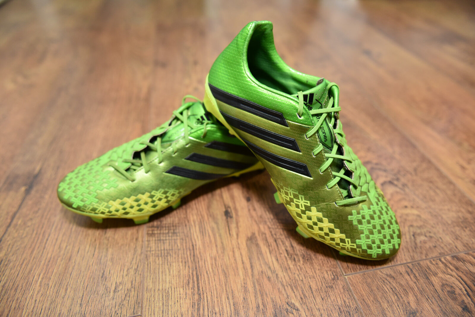 Adidas Prougeator Lethal Zones FG Football bottes Uk 7 Extralumière LZ Mania VGC