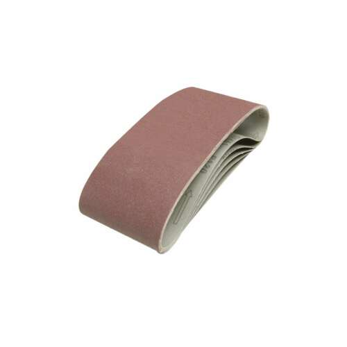 846448 Silverline 120 Grit Sanding Belts 100 x 610mm 5pk Power