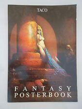 posters -  FANTASY POSTERBOOK -  TACO 1987 - FRAZETTA / MORRILL / VALLEJO