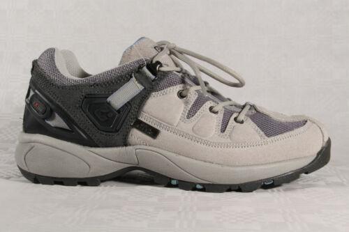 Killtec Damen Schnürschuhe Sportschuhe Sneakers Halbschuhe grau Leder Neu!!