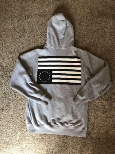 Black Scale Black Flag Hoodie Heather Grey