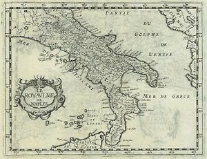 Mappa Napoli Puglia.Regno Di Napoli 1648 P Briet Calabria Puglia Rara Stampa Antica Originale Ebay