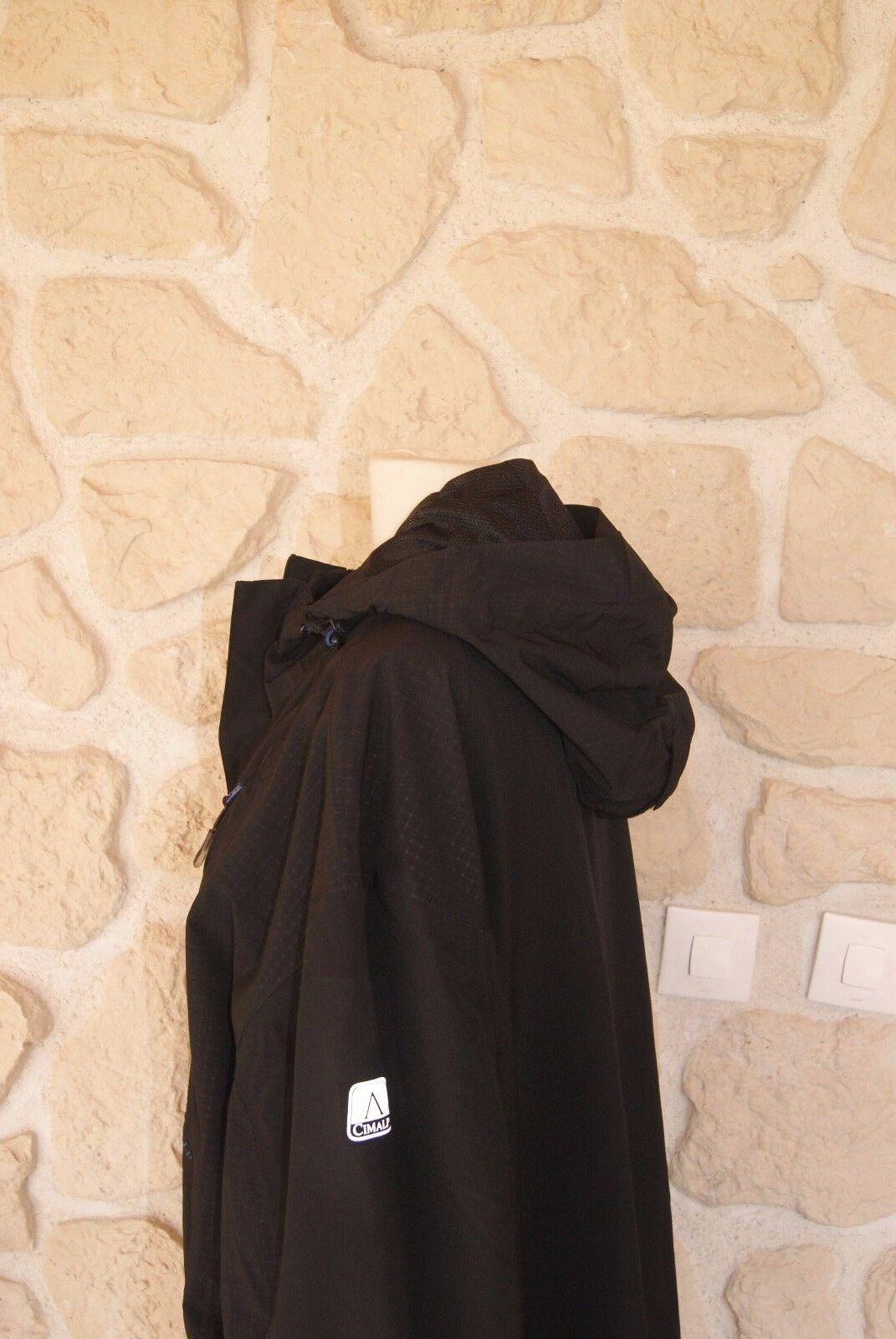 Veste/blouson de randonnée noire marque taille XXXL marque noire Cimalp 98a27f