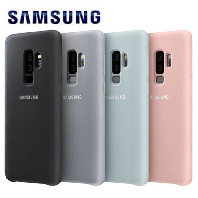 Genuino Oficial samsung Silicona Funda / Funda para Galaxy S9 Nuevo