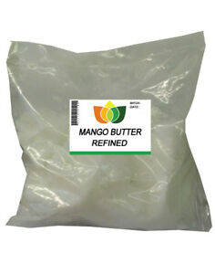 MANGO-BUTTER-Refined-Pure-Natural-Body-Face-Moisturiser-Soap-Making-100g-5kg