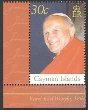 Cayman Islands 2005 Pope John Paul II/Popes/Papal/People/Religion 1v (n40440)