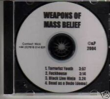 (125M) Weapons Of Mass Belief,Terrorist Youth - DJ CD